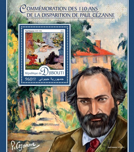 "Commemoration of 110 years of the disappearance of Paul Cézanne (Paul Cézanne (1839–1906) ""A Modern Olympia"", 1870) 