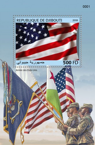 USA army (locals) | Stamps of DJIBOUTI