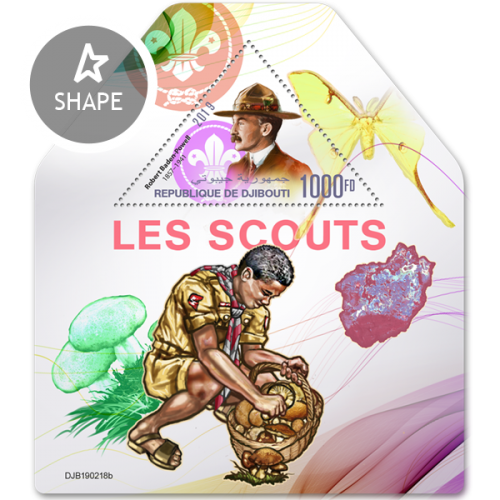 Scouts (Robert Baden-Powell (1857–1941)) | Stamps of DJIBOUTI